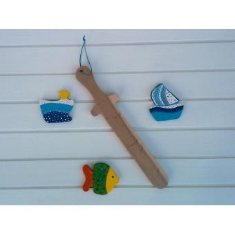 Drvena igračka -  drveni mač - Križarski mač