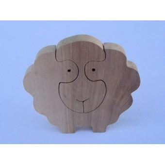 Drvene puzzle - Ovca