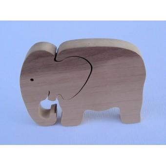Drvene puzzle - Slon