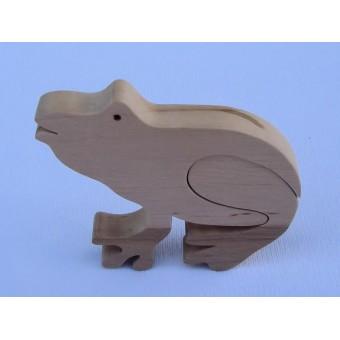 Drvene puzzle - Žaba