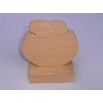 Drvene slagalice na štapiću - Jabuka