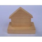 Drvene slagalice na štapiću - Kuća