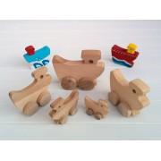 Drvena igračka - vozilo - Brod