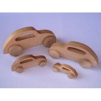 Drvena igračka - vozilo - Buba