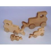 Drvena igračka - vozilo - Buldožer