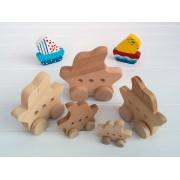 Drvena igračka - vozilo - Jedrenjak