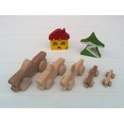 Drvena igračka - vozilo - Jeep