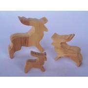 Drvena životinja - Jelen