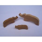 Drvena životinja - Nosorog