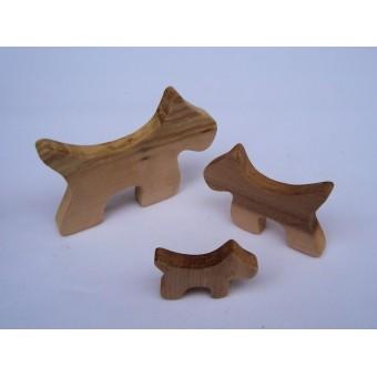 Drvena životinja - Pas 2