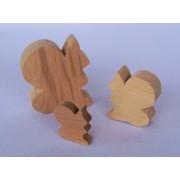 Drvena životinja - Vjeverica