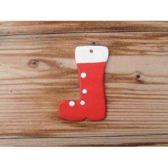 Božićni ukras - Čizma