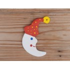 Božićni ukras - Mjesec