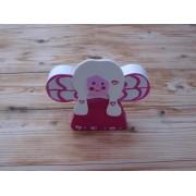 Božićni ukras - stojeći - Anđeo 2