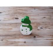 Božićni ukras - stojeći - Snjegović 2