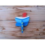 Drveni magnet - Brod 1