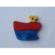 Drveni magnet - Brod 3