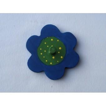 Drveni magnet - Cvijet 1