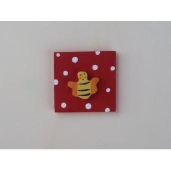 Drvena sličica - mala - Pčelica