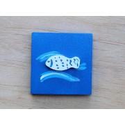 Drvena sličica - mala - Riba 2