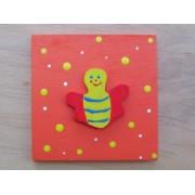 Drvena sličica - srednja - Pčela
