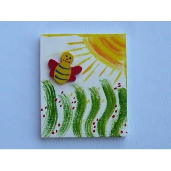 Drvena sličica - velika - Pčelica