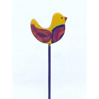 Drveno cvijeće i ukrasi - Ptica