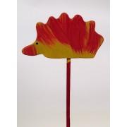 Drveno cvijeće i ukrasi - Jež