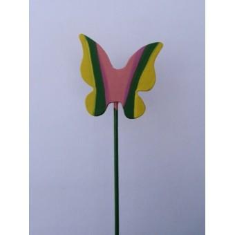 Drveno cvijeće i ukrasi - Leptir