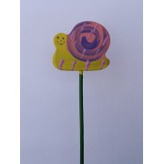Drveno cvijeće i ukrasi - Puž