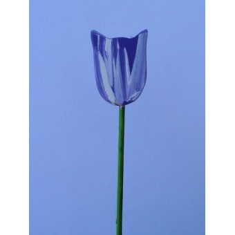 Drveno cvijeće i ukrasi - Tulipan 3