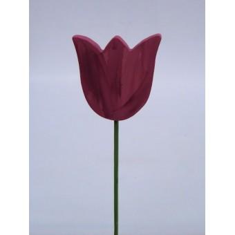 Drveno cvijeće i ukrasi - Tulipan 5