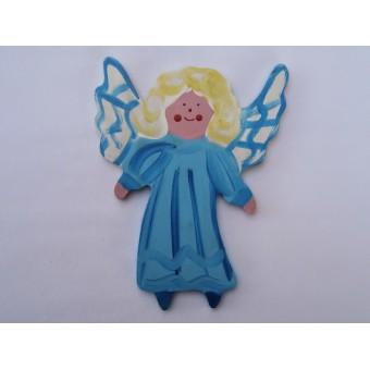 Drveni ukras za zid - Anđeo 3