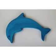 Drveni ukras za zid - Delfin