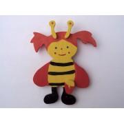 Drveni ukras za zid - Pčelica