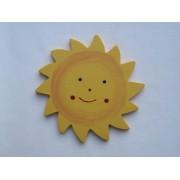 Drveni ukras za zid - Sunce