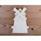 Drveni ukras za zid - Vjetrenjača