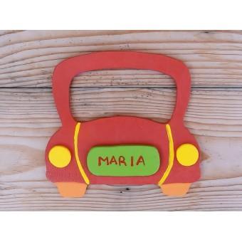 Drveni natpis - Automobil 1