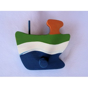 Drvena vješalica - velika - Brod 2