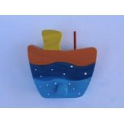 Drvena vješalica - velika - Brod 4