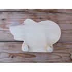 Drvena vješalica - velika - Hippo 2