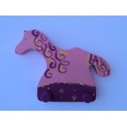 Drvena vješalica - velika - Konj 1