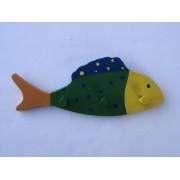 Drvena vješalica - mala - Riba