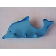 Drvena vješalica - velika - Delfin