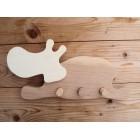 Drvena vješalica - velika - Hippo 1