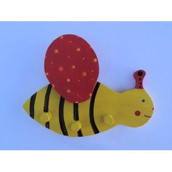 Drvena vješalica - velika - Pčelica