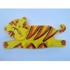 Drvena vješalica - velika - Tigar