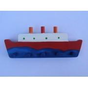 Drvena vješalica - velika - Titanik