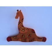 Drvena vješalica - velika - Žirafa